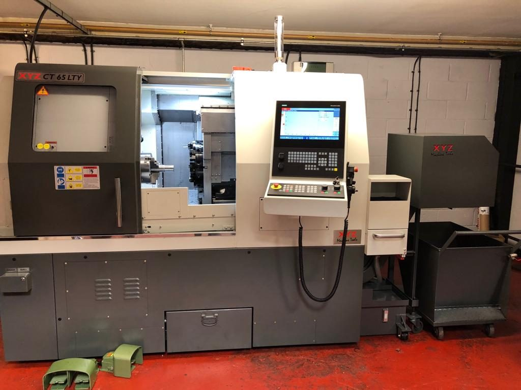Our new XYZ Compact Turning Centre